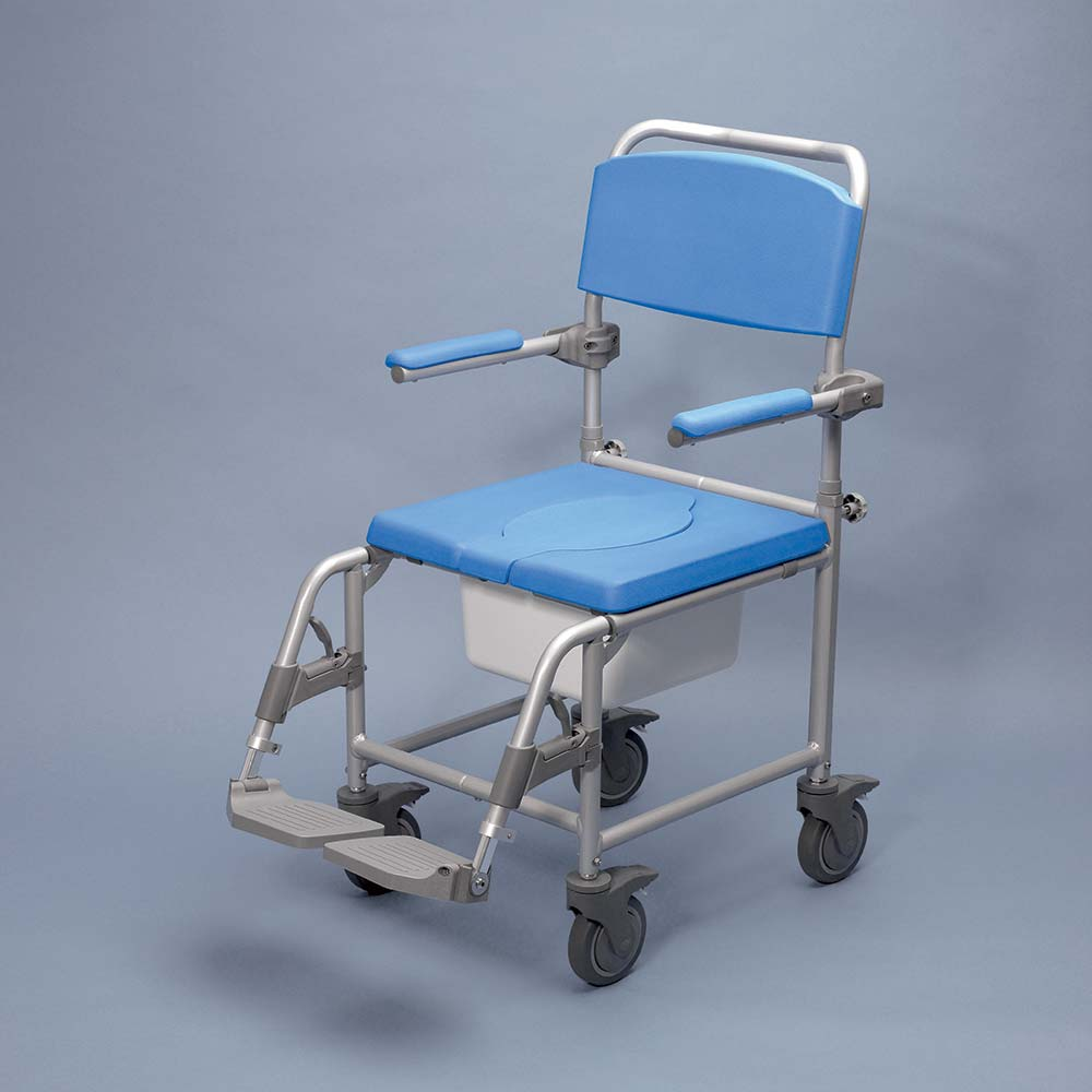 Attendant Propelled Shower Commode Chair 842