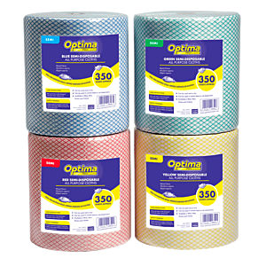 Optima Semi-Disposable All Purpose Cloth Roll