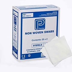 Premier Non Woven 4ply Sterile Swabs 10cm x 10cm