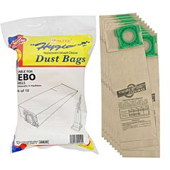 Outer pack of Qualtex dust bags with inner contents.