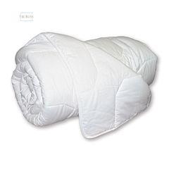 Trubliss Washable White folded duvet.