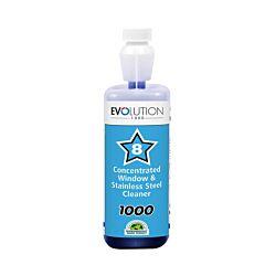 Evolution 1000 - Window & Stainless Steel Cleaner (1Ltr)