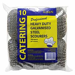 Galvanised Steel Scourers 38g Catering