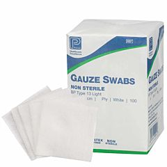 Premier Cotton Gauze Swabs 12ply