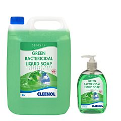 SENSES GREEN BACTERICIDAL HAND SOAP BOTTLES