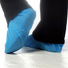 "Polythene Shoe Covers 16"" (100)"