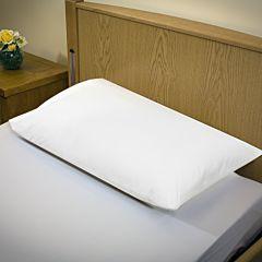 MIP MRSA pillow protector with zip.