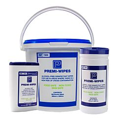 Premier Premi-Wipes Alcohol Free Disinfectant Wipes