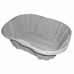 Polyco grey 4 litre washbowl.