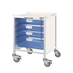 Sunflower VISTA 40 Trolley 3 Single / 1 Double Trays