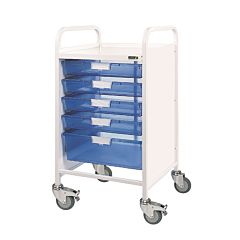 Sunflower VISTA 50 Trolley 4 Single / 1 Double Trays