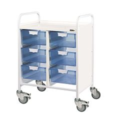 Sunflower VISTA 60 Trolley 6 Double Trays