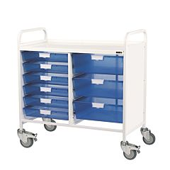 Sunflower VISTA 100 Trolley 6 Single / 3 Double Trays