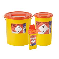 Sharpsguard Sharps Bin Orange Lid